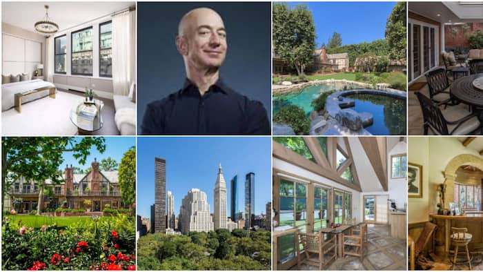 A sneak peek into Jeff Bezos' N205 billion houses shows the world's richest man is nobody's mate
