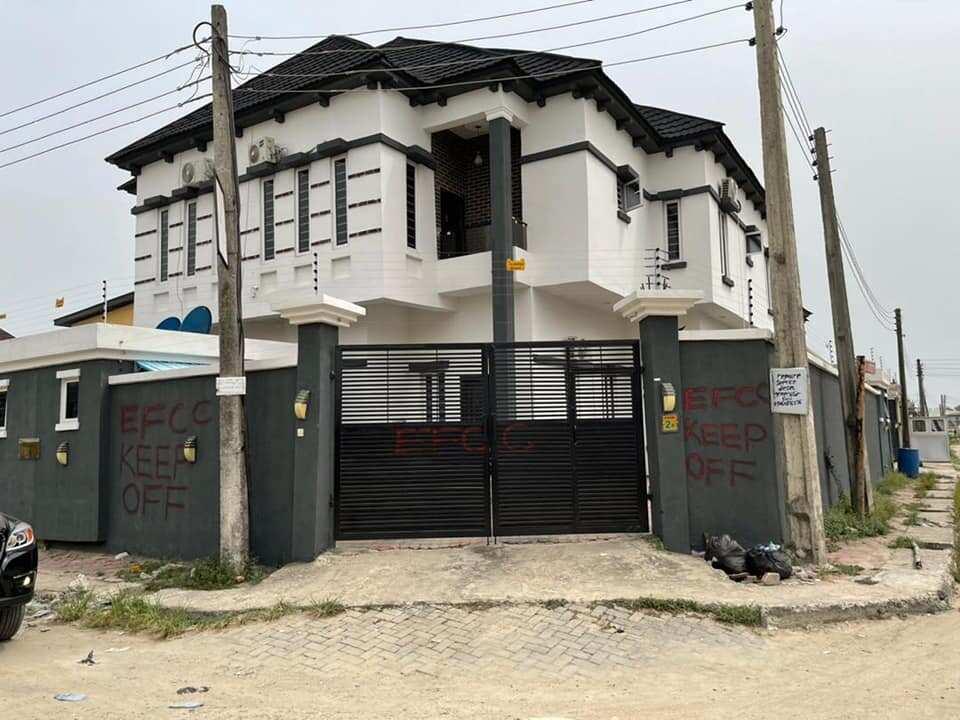 EFCC house