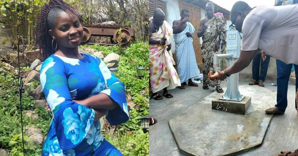 Ghanaian lady who hawked to fund university now PhD student in US after 2 master's