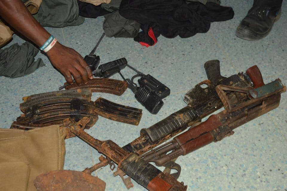 OPM recovers sophisticated weapons from known cultist, kidnapper and armed robber