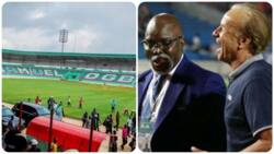 Jubilation as over 7,000 fans could be allowed into stadium to watch Super Eagles first home game in 2020 (see details)