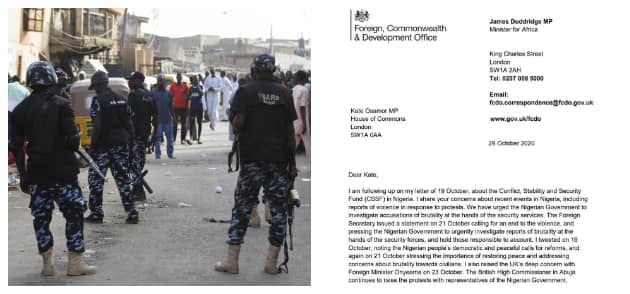 EndSARS: UK govt assisted operatives with 4-year training, says British MP