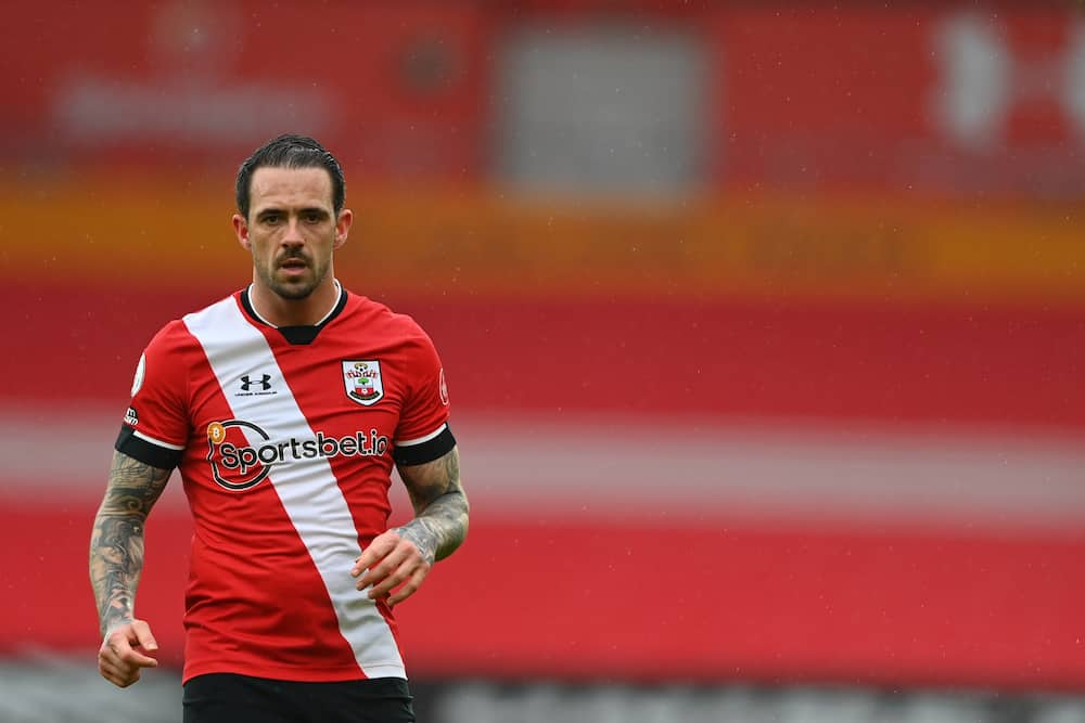 Danny Ings in action for Southampton.