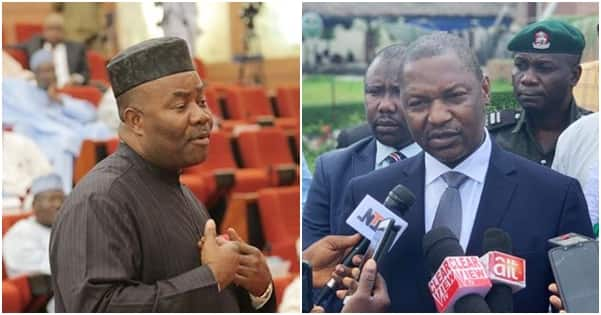 AGF Malami reacts to allegation that he collected N25bn bribe from Akpabio