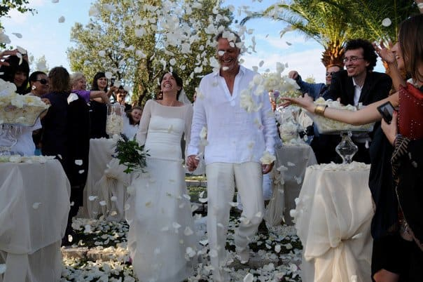 Vanessa Vadim wedding