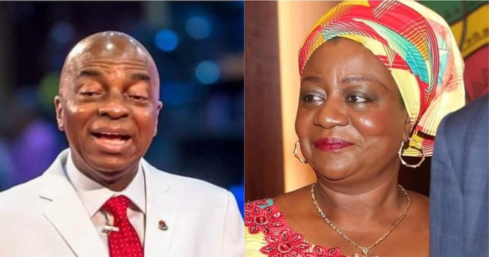 CAMA: Oyedepo will have to manufacture his own country - Lauretta Onochie