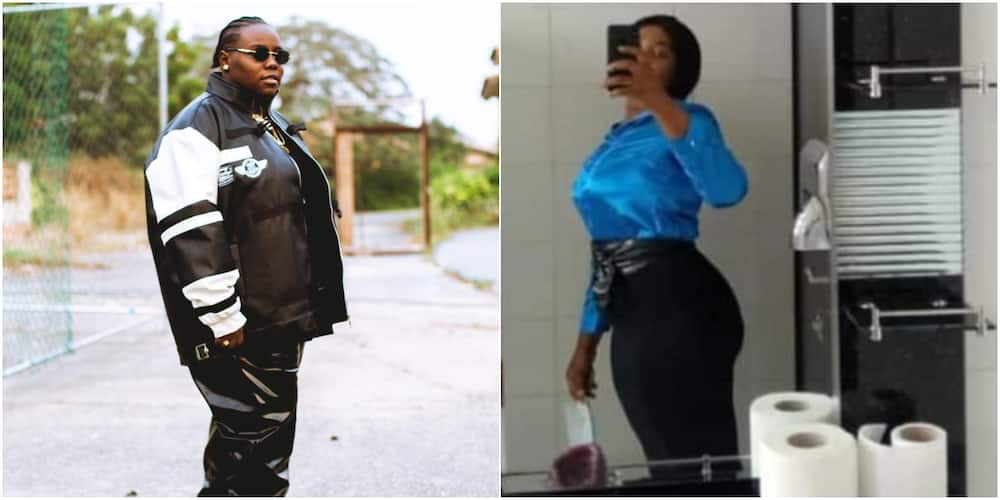 Singer Teni Drags Lady who Said she Doesn't have Fans to Listen to Her New Album