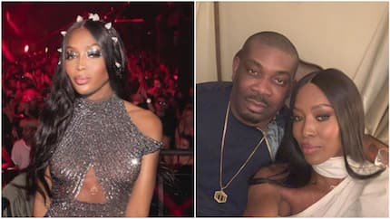 Let me not lie, I was star struck - Don Jazzy says after meeting pretty 48-year-old supermodel (photos)