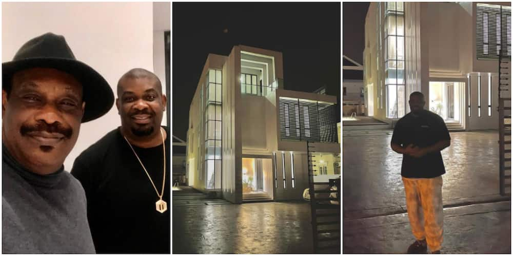 Don Jazzy's father excited as producer acquires luxury mansion in Lagos