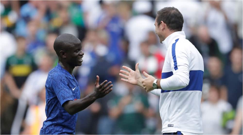 N'golo Kante: Lampard says Chelsea star is going nowhere