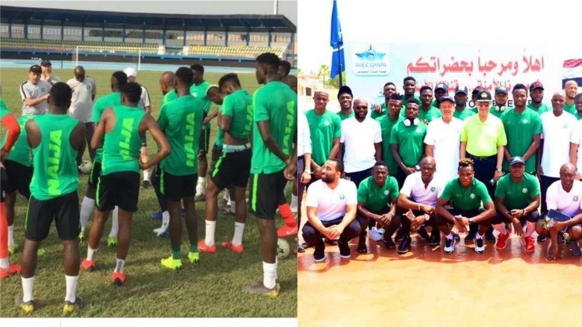 Super Eagles stars go on boat cruise ahead pre-AFCON friendly against Senegal