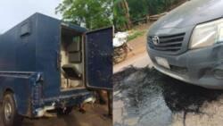 Police escorts shot as armed robbers attack bullion van in Ondo, cart away huge cash