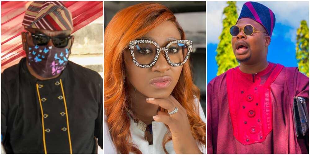 Funsho Adeolu, Mary Remmy Njoku, and Mr Macaroni
