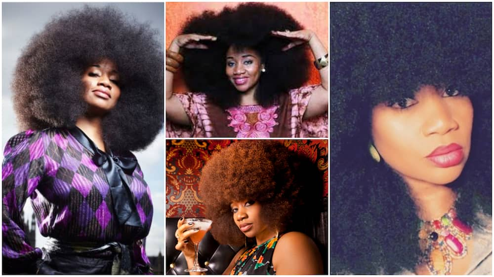 Aevin Dugas afro