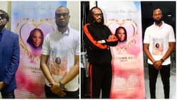 2baba, Blackface, others attend service of songs for Faze's late twin sister