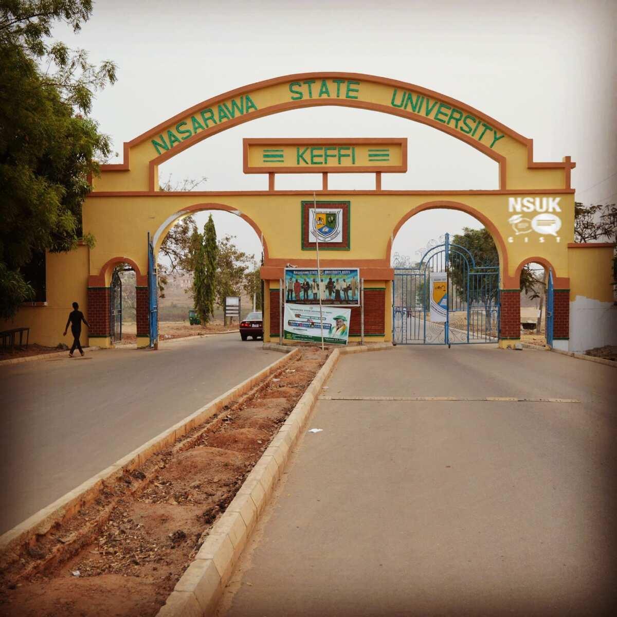Nasarawa State University postgraduate school fees