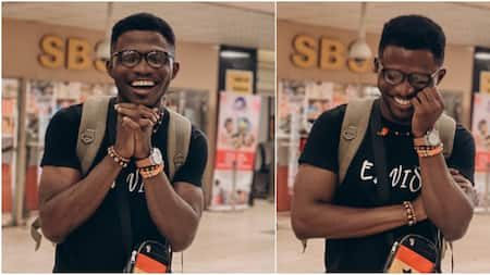 Nigerian man celebrates his win after bagging fully funded scholarship to University of Oxford for his masters