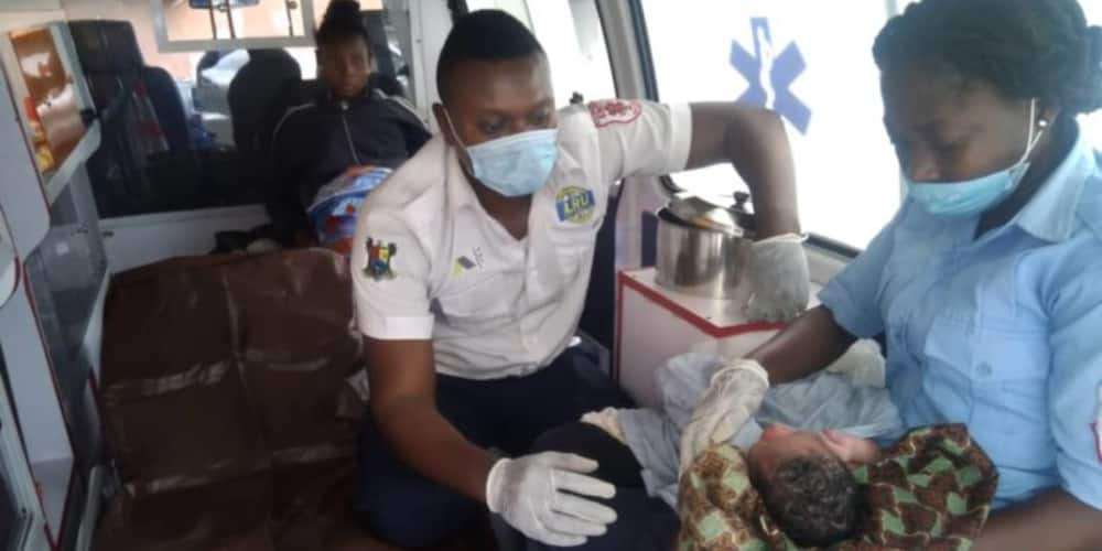 35-year-old homeless woman delivered of baby under Ajah bridge