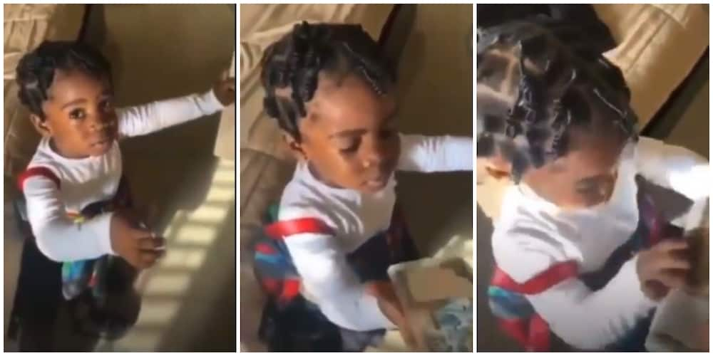Little Girl Demands 50k from Man, Rejects N200 in Viral Video, Nigerians React
