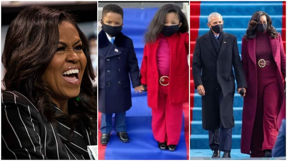 Michelle Obama hails kids who recreated her inauguration outfit, says they nailed it