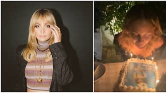 Actress Nicole Richie accidentally sets hair on fire while blowing out birthday candles in terrifying video