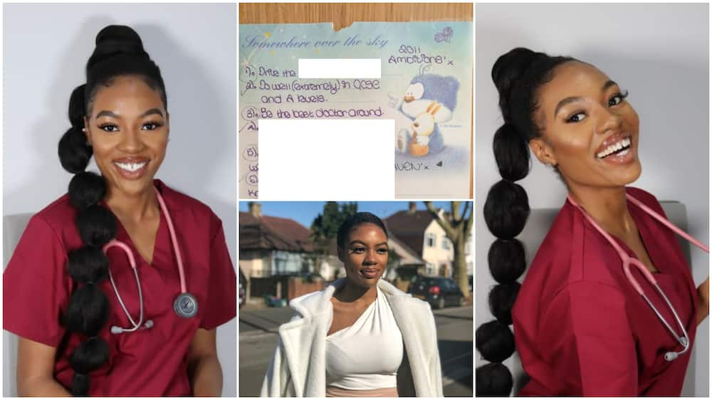 Nigerian lady becomes the first doctor in her family, says her 10-year dream came true