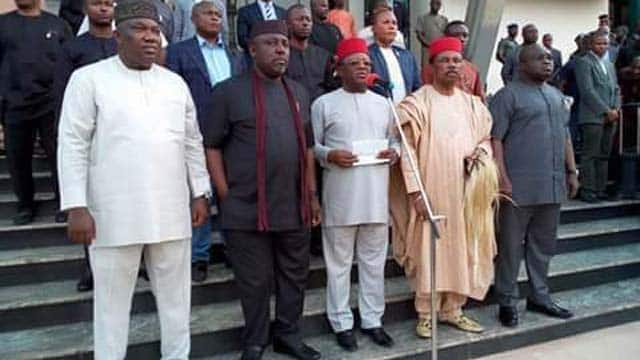 EndSARS: Desist from inflammatory remarks, Southeast governors warn Nigerians