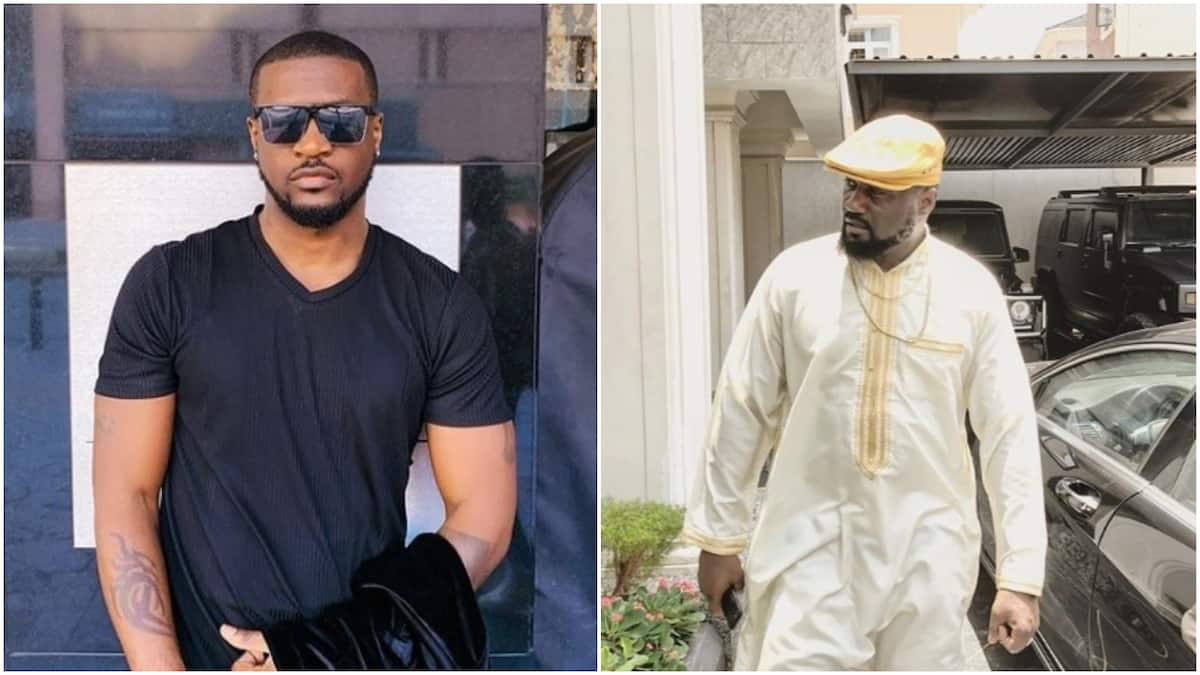 Peter Okoye admits himself and his elder brother Jude are still sworn enemies, says they don\'t talk (video)