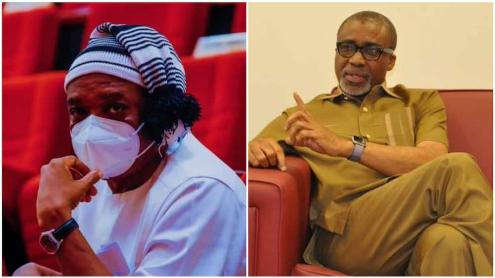 If You Picked Me from Gutter, Why Are You Still in the Gutter? Abaribe Fires Back at Kalu
