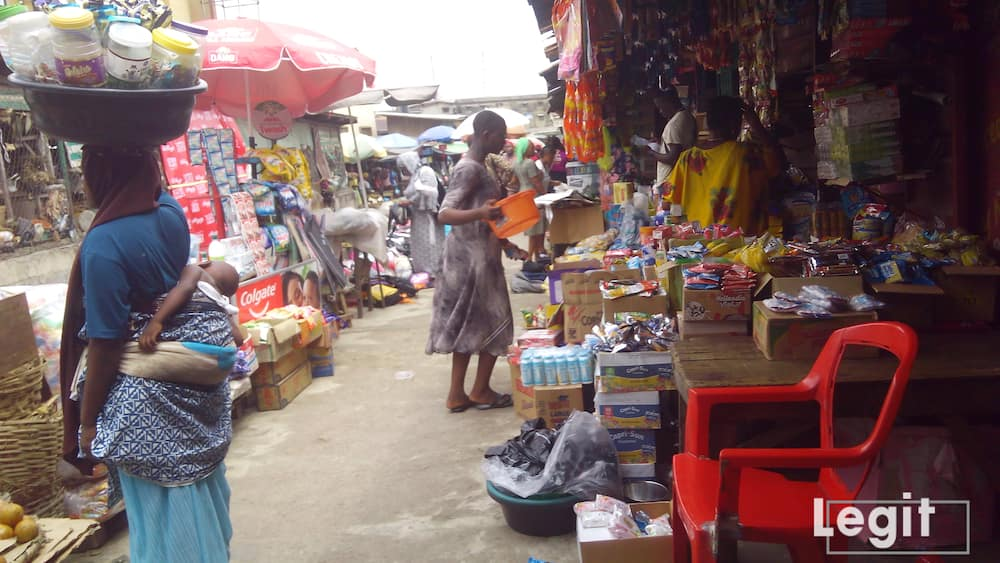 Some provisional items have increased by over ten percent in the market. Photo credit: Esther Odili