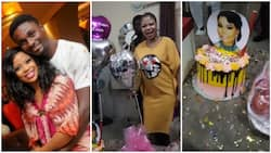Actor Adeniyi Johnson leaves wife speechless with lovely early birthday surprise (video)