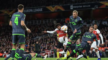 Sporting Lisbon share the spoils with Arsenal in Europa League match at the Emirates