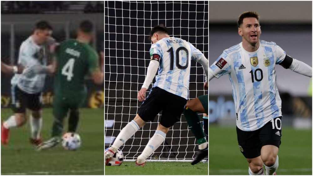 Messi v Bolivia
