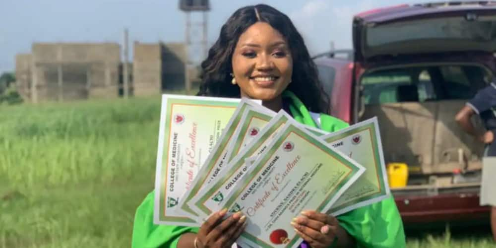 Dr Ola Sandra graduated with distinction and bagged seven awards