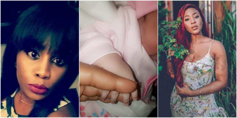 Erica Nlewedim: Former BBNaija housemate blesses baby named after her