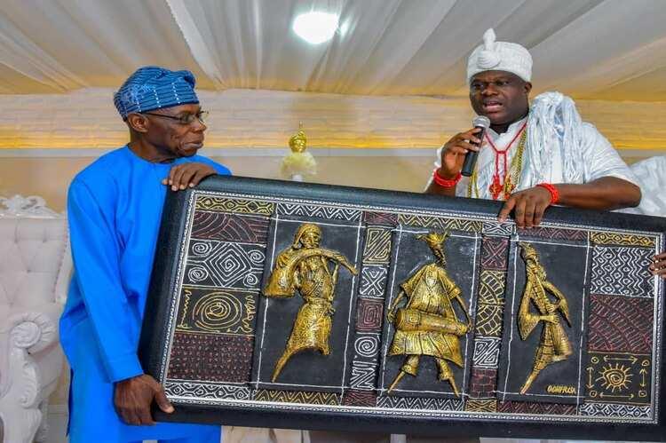 EndSARS: Ooni, Obasanjo urge presidency, youths to show understanding