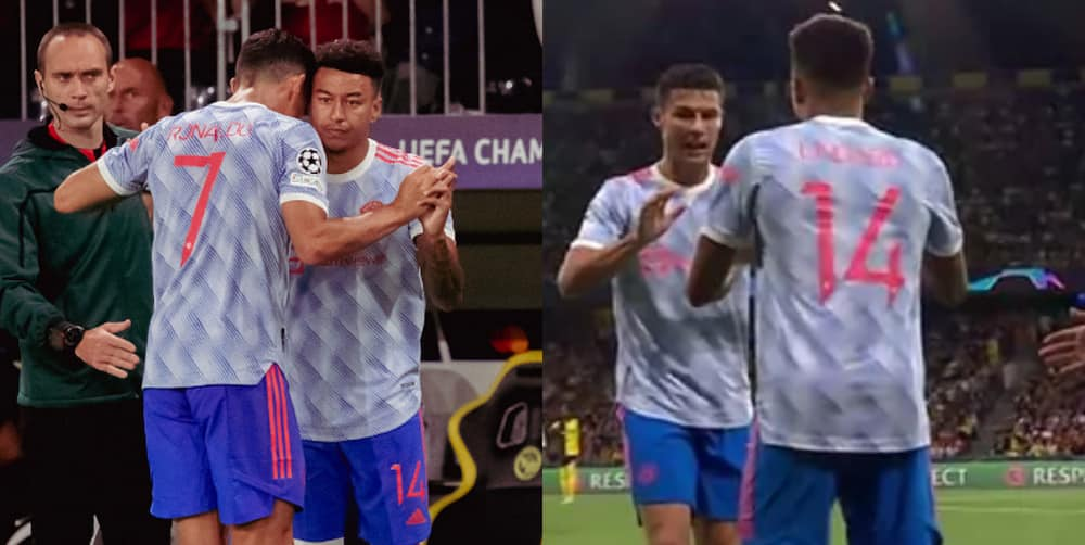 Ronaldo's reaction after being substituted for Lingard says it all as United went on to lose to Young Boys