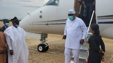 Breaking: Photos released as PDP governor storms northern state