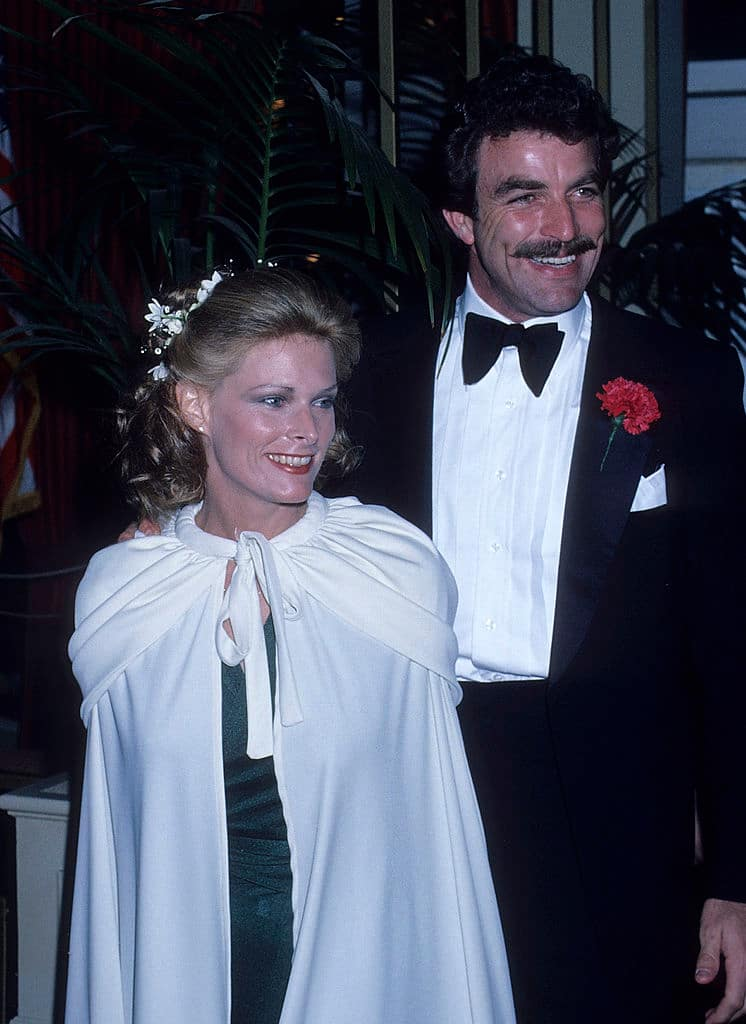 why did Tom Selleck divorce his first wife?