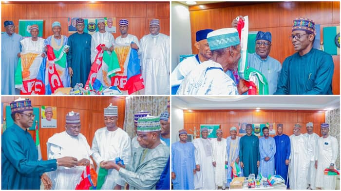 Just in: Photos emerge as PDP officials defect to APC in northern state