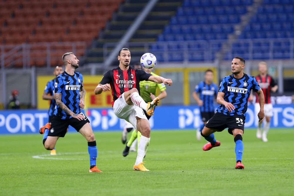 Zlatan Ibrahimovic says he feels more complete after brace against Inter Milan