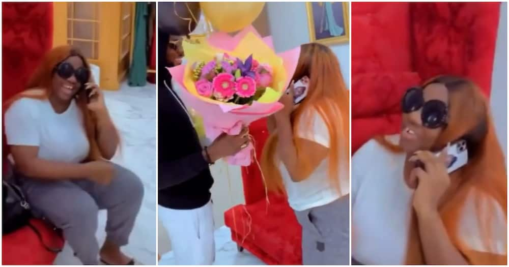 BBNaija's Prince pleasantly suprises Dorathy on her birthday after ignoring her for hours
