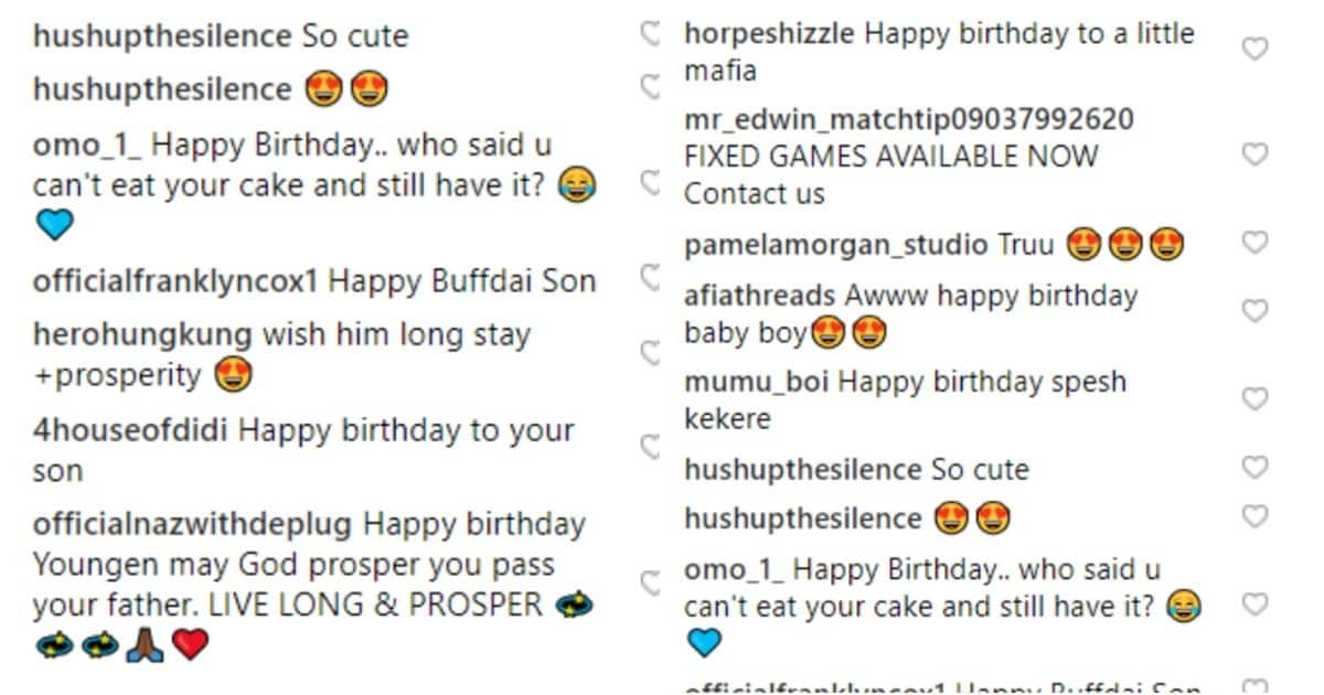 Davido's hypeman Special Spesh celebrates son's 1st birthday, shares cute photos