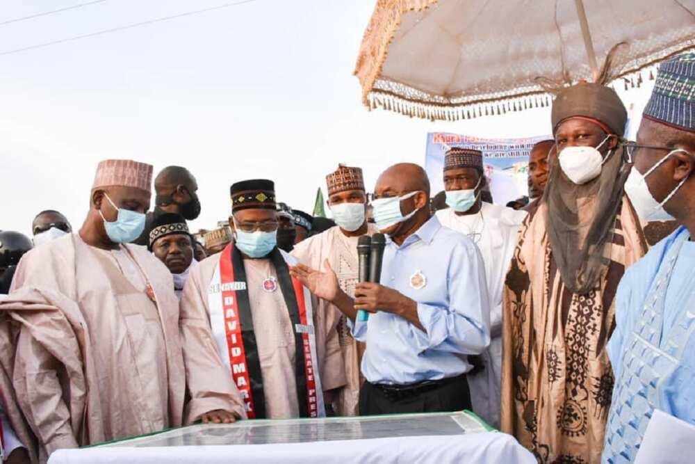 Da taimakon David Mark aka nada ni Ministan Abuja a 2020 inji Bala Mohammed
