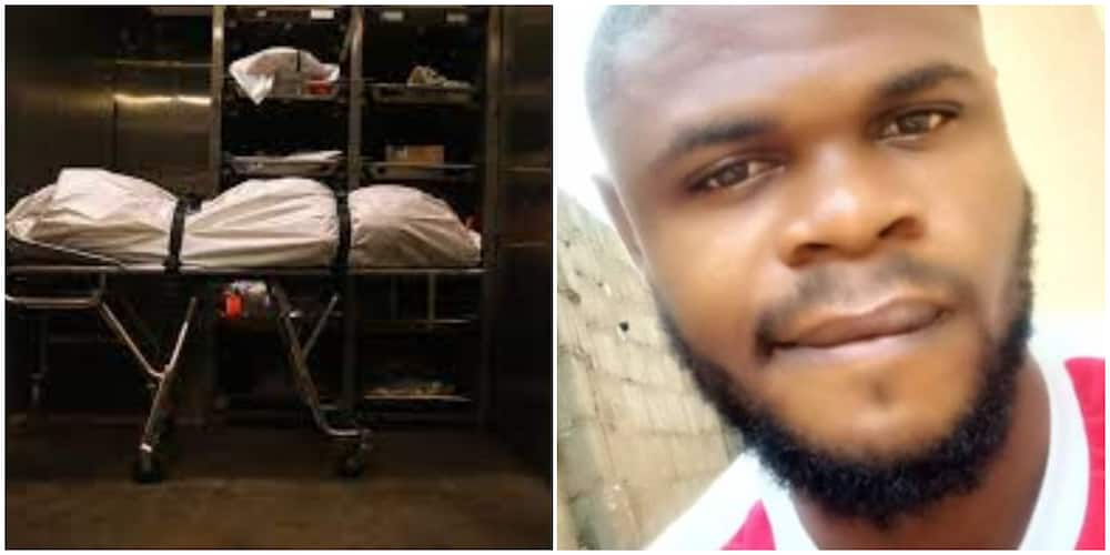 26-year-old medical student runs out of class after finding his friend's body on the table