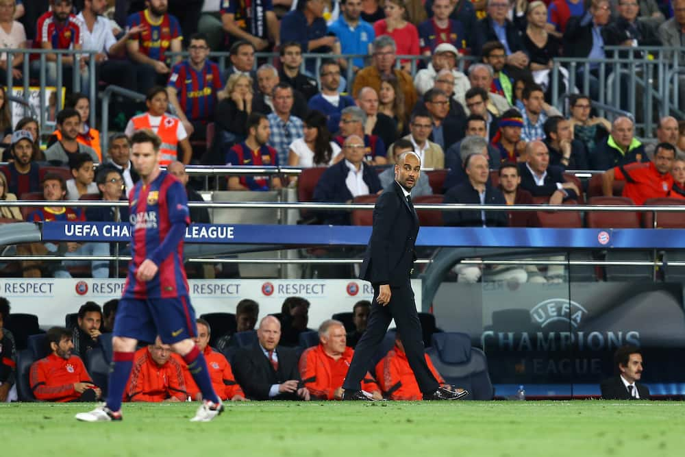 Pep Guardiola reportedly linked with return to Barcelona to fulfill Messi's wish