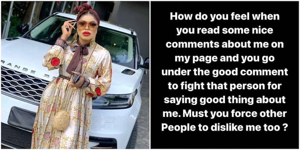 Why Are You Attacking People Saying Good Things About Me? Bobrisky Blasts Trolls Forcing Others to Hate Him