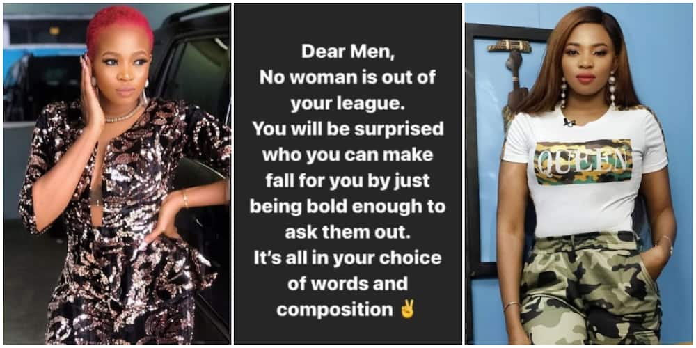Don't Try It if You Don't Have Money: Reactions as Cindy Okafor Tells Men No Woman is out of Their League