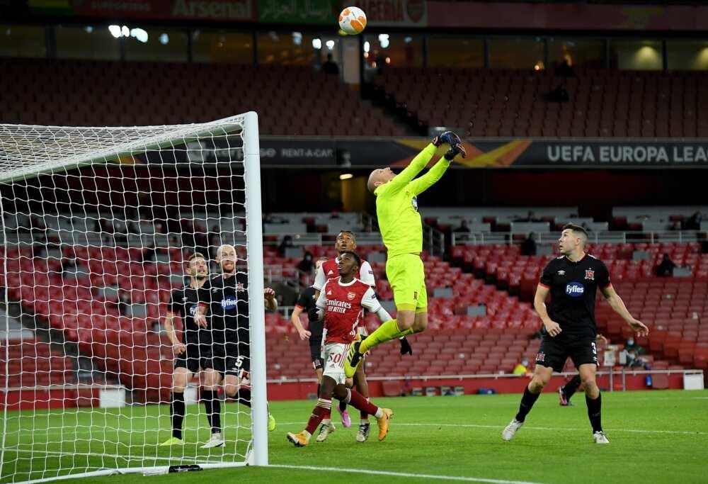 Arsenal vs Dundalk: Nicolas Pepe scores as Gunners record 3-0 win in Europa League