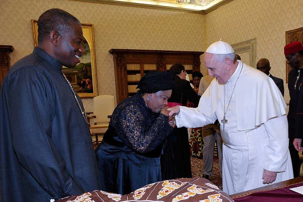 Who is Goodluck Jonathan's wife?